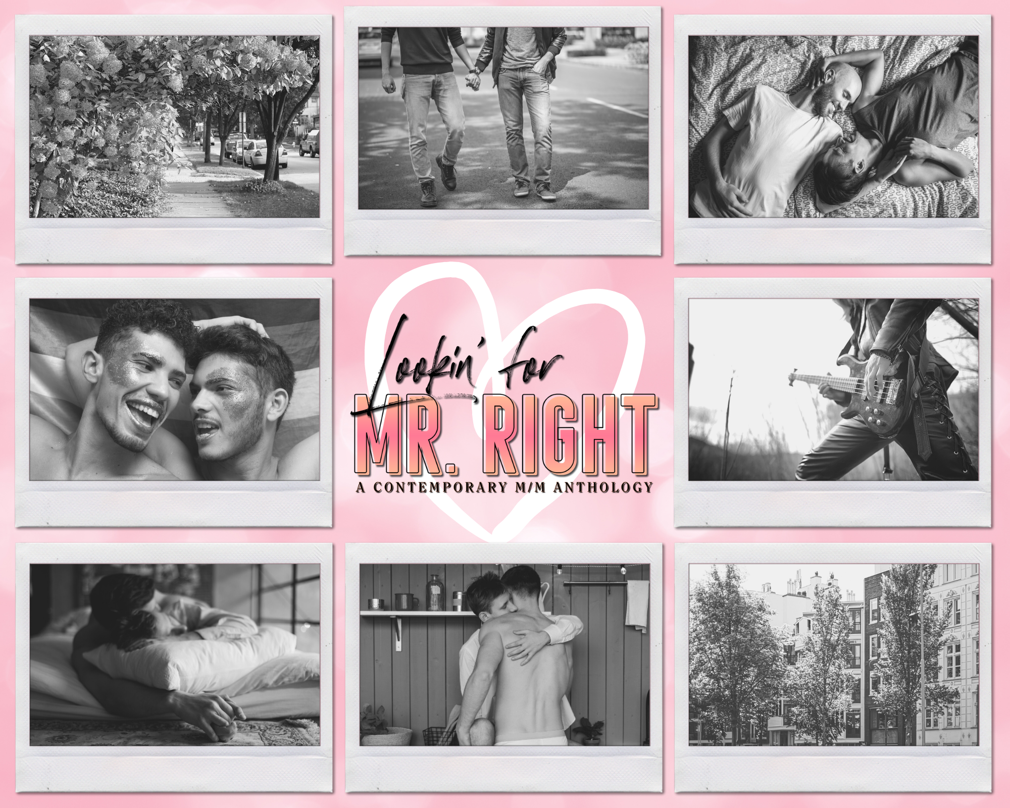 Pink Mr. Right Collage