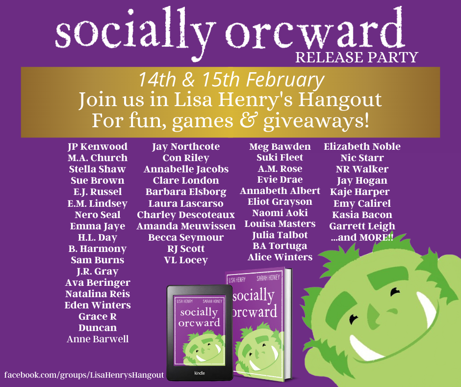 Socially Orcward FB Party Post Title