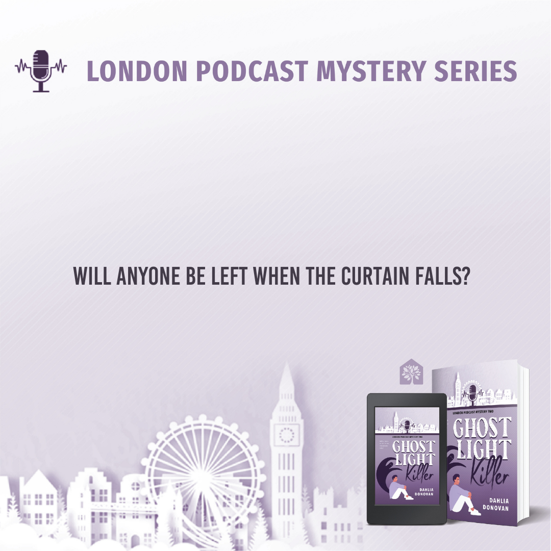 with cover - LONDON PODCAST MYSTERY TWO - INTRO