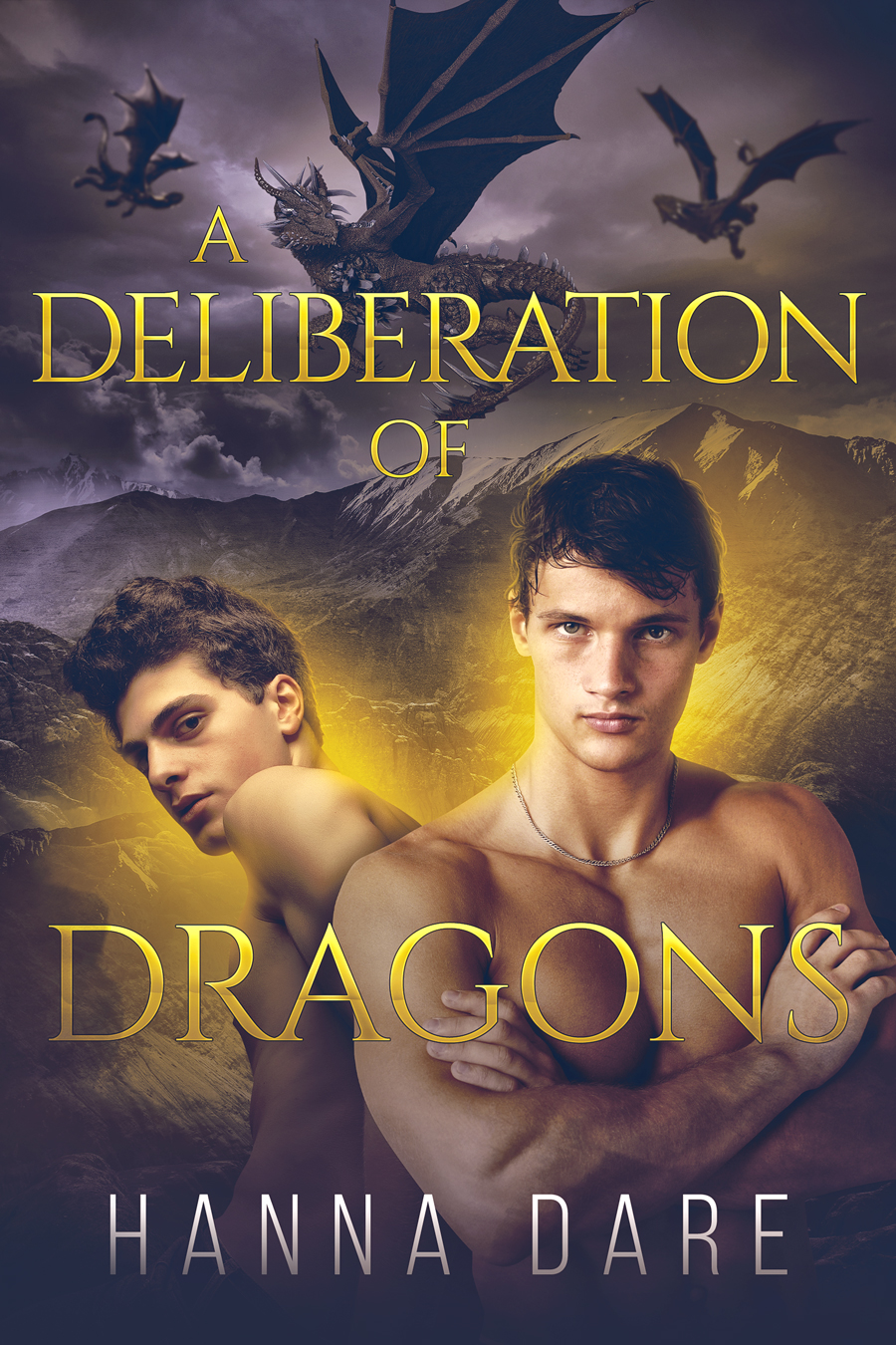 A Deliberation of Dragons Cover
